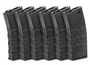ICS M4 300 rd. AEG High Capacity Magzine - 6 Pack ( Black )