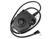 Lancer Tactical Push-To-Talk (PTT) For Motorola 1 Pin Version (Black/Type A)