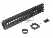 "Madbull Daniel Defense Licensed 12""  M4/M16 Lite Rail Handguard (Black)"