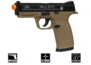Smith & Wesson M&P40 Spring Pistol Airsoft Gun (Flat Dark Earth)