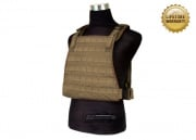 Pantac USA 1000D Cordura Spec Op Plate Carrier (Medium/Coyote/Tactical Vest)