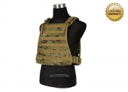 Pantac USA 1000D Cordura Spec Op Plate Carrier (Medium/Multicam/Tactical Vest)