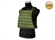 Pantac 1000D Cordura Spec Op Plate Carrier ( Medium / OD / Tactical Vest )