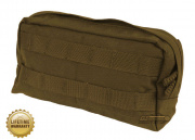 Pantac USA 1000D Cordura Molle Large Horizontal Utility Pouch (Coyote)