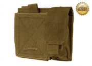 Pantac USA 1000D Cordura Molle Small Admin Pouch ( Coyote )