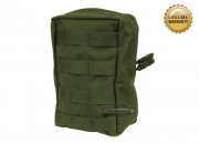Pantac USA 1000D Cordura Molle Vertical Utility Pouch (OD Green)