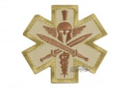 Mil-Spec Monkey Tactical Medic Spartan Patch (Desert)