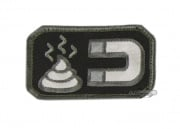 MM Poop Magnet Velcro Patch ( SWAT )