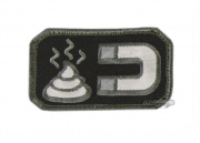 MM Poop Magnet Velcro Patch (SWAT)