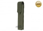 Pantac USA 1000D Cordura Molle E90/UMG Single Magazine Pouch (Ranger Green)