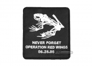 "SEAL of Honor ""Never Forget"" Velcro Patch"