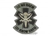 MM Do No Harm Skull Velcro Patch ( ACU )