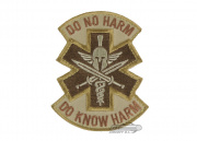 MM Spartan Do No Harm Patch (Desert)