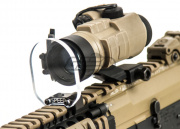 Speed Airsoft Round Optic BB Shield (Medium)