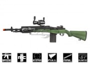 TSD Sports M14 RIS Series w/ Red Dot Spring Airsoft Gun ( OD Green )