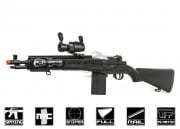 TSD Sports M14 RIS Series w/Red Dot Spring Airsoft Gun ( Black )