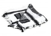 Valken Shemagh Tactical Scarf (White/Black)