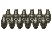 Valken Tactical Thunder B Grenade 12 Pack w/ Core (Pineapple)