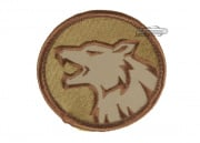 MM Wolf Patch ( TAN )