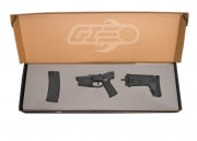 *Open Box Buy* WE MSK Polymer Lower With Stock and Magazine For Gas Blow Back Airsoft Gun (Black)