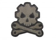 MM Death Mechanic Velcro Patch ( ACU Light )