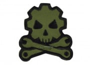 MM Death Mechanic Velcro Patch (Forest)