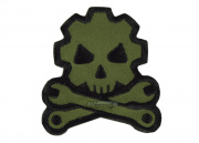 Mil-Spec Monkey Death Mechanic Velcro Patch (Forest)