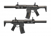 "Ares Amoeba AM014 M4 14"" MR/E-SD Carbine AEG Airsoft Gun (Black)"