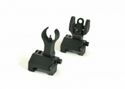 (Discontinued) Best Gun Flip Up Sight Set for M4/M16