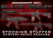 Black Friday Stocking Stuffer Mystery Patch Package Feat. $1000 Gift Card, ASG CZ Scorpion, and Much More! (USPS Shippable)