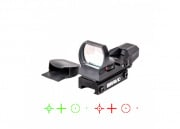 Bravo Airsoft MROS Red/Green Red Dot Sight #4 (Square Lens)