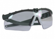 Bravo Airsoft Tactical Eye Protection w/ Clear Lens (Gray)