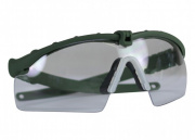 Bravo Airsoft Tactical Eye Protection w/ Clear Lens (OD Green)