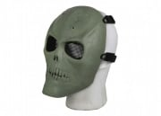 Bravo Airsoft Tactical Gear Full Face Skull Mask (OD Green)