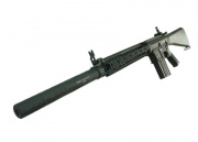 Classic Army Full Metal CA-25 AEG Sniper Rifle Airsoft Gun (Black)