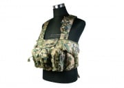Condor Outdoor Commando Chest Rig (Digital Woodland)