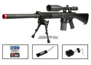 G&G Full Metal GR-25 AEG Airsoft Gun (Battery/BBs/Charger Package/SR-25)
