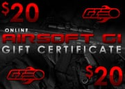 Airsoft GI Gift Certificate $20 (Online Only / E-mail Delivery)