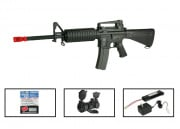 (Discontinued) G&G Full Metal GR-16 A3 Carbine Airsoft Gun PRO Package