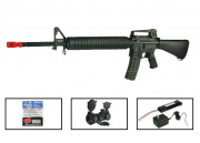 (Discontinued) G&G Full Metal GR-16 A3 Airsoft Gun PRO Package