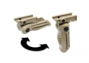 G&P Foldable Vertical Grip for RAS (Tan)