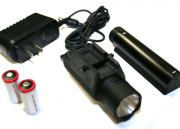 G&P M3 Flashlight with Charger