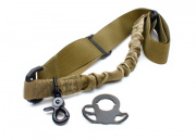 G&P CQB / R Sling Adapter with Bunch Sling for M4 Series ( Tan )