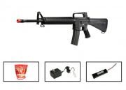 G&G GR-16 A2 Rifle AEG Airsoft Gun (Battery/BBs/Charger Package/Original Plastic Series)