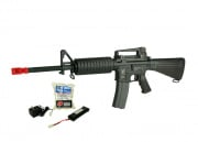 (Discontinued) G&G Full Metal GR-16 A3 Carbine Airsoft Gun (Battery/BBs/Charger Package/M4-TC)