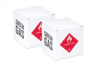 Green Gas 2 Case (12 Cans Per Case : 24 Total)