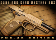 Guns and Gear Mystery Box feat. FN Herstal FNX-45 Tactical GBB Airsoft Gun