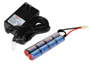 Tenergy Smart Charger w/ 9.6v 1600mAh Crane Stock Battery Holiday Package