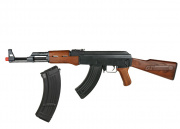 CM028 AK47 AEG Airsoft Gun w/ 600rd AK47 High Capacity Magazine Package