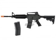 JG M4A1 Basic AEG Airsoft Gun w/ D Boy 300rd M4 High Capacity Magazine Package